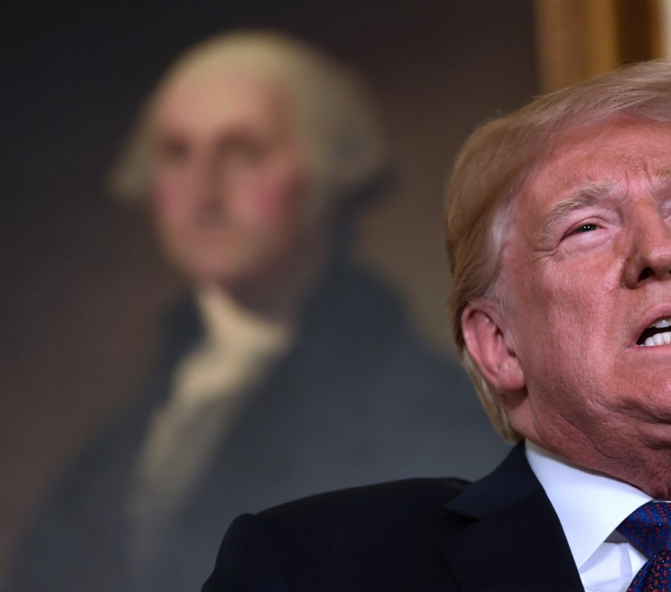 Trump e George Washington: crise de princípios